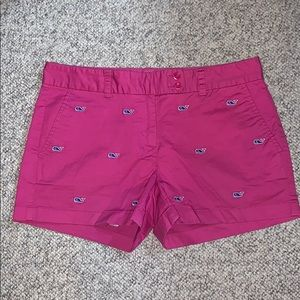 Pink Vineyard Vines shorts